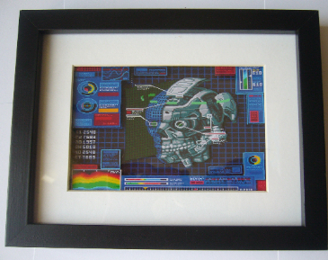"Snatcher ""Mech Head""  3D Diorama Shadow Box"